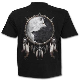 Herren T-Shirt SPIRAL- Wolf Chi - Black