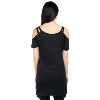 Damen T-Shirt - CAT Person Distress - KILLSTAR