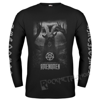 Herren Longsleeve Hardcore - UNDER THE UNSACRED MOONLIGHT - AMENOMEN - OMEN054LO