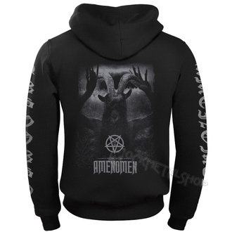 Herren Hoodie - UNDER THE UNSACRED MOONLIGHT - AMENOMEN - OMEN054CR