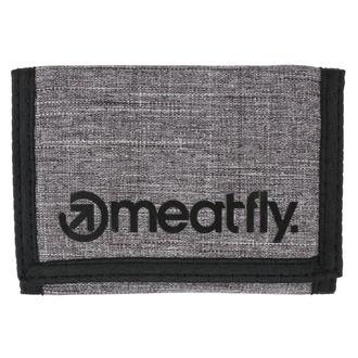 Geldbörse MEATFLY - Vega - Gray Heather, Black, MEATFLY