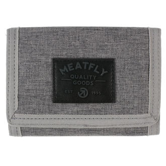 Geldbörse MEATFLY - Jules - Grau Heather, Black, MEATFLY