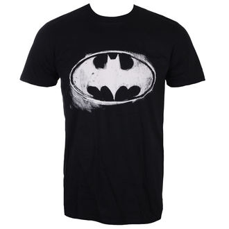 Herren T-Shirt Film Batman - LOGO MONO DISTRESSED - LIVE NATION, LIVE NATION