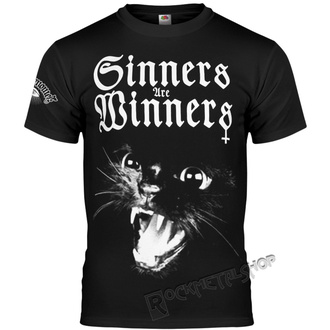 Herren T-Shirt Hardcore - SINNERS ARE WINNERS - AMENOMEN, AMENOMEN