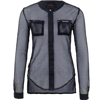 Gothisches und Punk Damen T-Shirt  - Pockets - QUEEN OF DARKNESS, QUEEN OF DARKNESS
