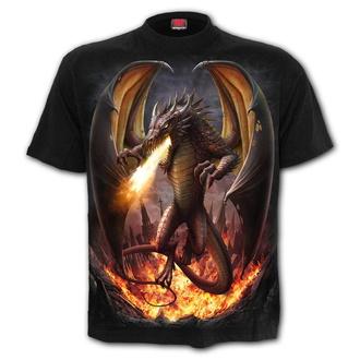 Herren T-Shirt - DRACO UNLEASHED - SPIRAL - L042M101