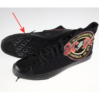Hohe Sneaker Unisex AC-DC - Sneakers - FBI., F.B.I., AC-DC