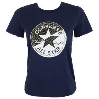 Damen T-Shirt Street - Spliced Leopard - CONVERSE, CONVERSE