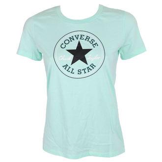 Damen T-Shirt Street - CORE SOLID CHUCK PATCH - CONVERSE, CONVERSE