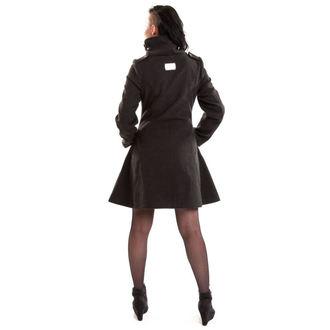 Damen Mantel VIXXSIN - NECROMANCER - GRAU, VIXXSIN