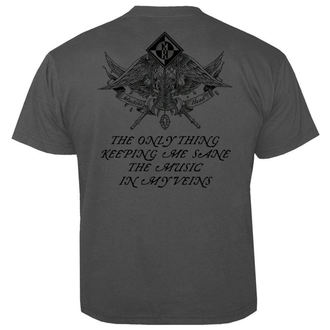 Herren T-Shirt Metal Machine Head - Clock GREY - NUCLEAR BLAST, NUCLEAR BLAST, Machine Head