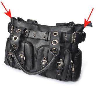Handtasche (Tasche) POIZEN INDUSTRIES - EVE - SCHWARZ - BESCHÄDIGT, POIZEN INDUSTRIES