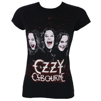 Damen T-Shirt Metal Ozzy Osbourne - Crows & Bars - ROCK OFF, ROCK OFF, Ozzy Osbourne
