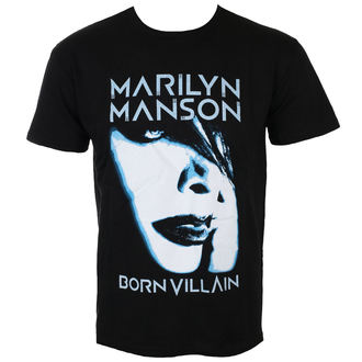 Herren T-Shirt Metal Marilyn Manson - Born Villain - ROCK OFF - MMTS10MB