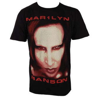 Herren T-Shirt Metal Marilyn Manson - Bigger Than Satan - ROCK OFF, ROCK OFF, Marilyn Manson