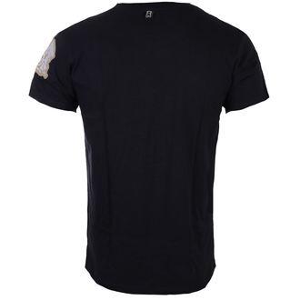Herren T-Shirt Metal Queen - Logo & Crest - ROCK OFF
