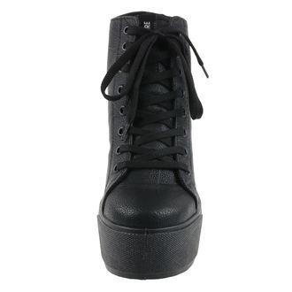 Damen Schuhe ALTERCORE - Roca - PU Schwarz, ALTERCORE