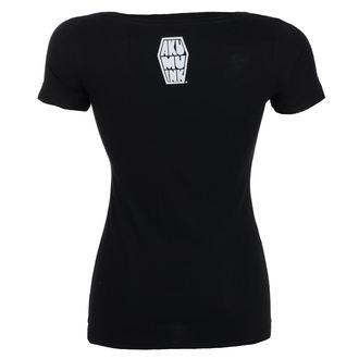 Damen T-Shirt Hardcore - Insatiable Frenzy Scoop - Akumu Ink, Akumu Ink