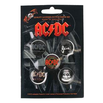 Ansteckbutton Set AC / DC - RAZAMATAZ, RAZAMATAZ, AC-DC