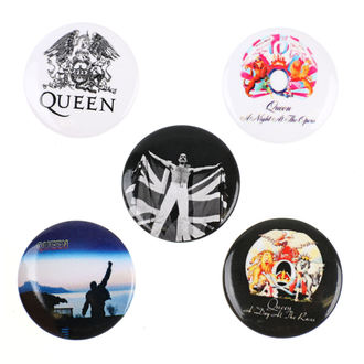 Ansteckbutton Set Queen - RAZAMATAZ, RAZAMATAZ, Queen