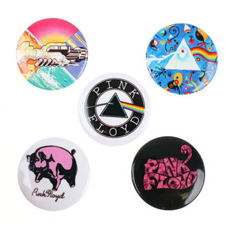 Ansteckbutton Set Pink Floyd - RAZAMATAZ, RAZAMATAZ, Pink Floyd