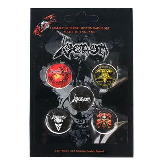 Ansteckbutton Set Venom - RAZAMATAZ, RAZAMATAZ, Venom