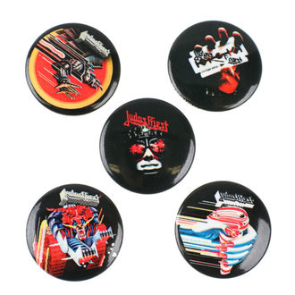 Ansteckbutton Set Judas Priest - RAZAMATAZ, RAZAMATAZ, Judas Priest