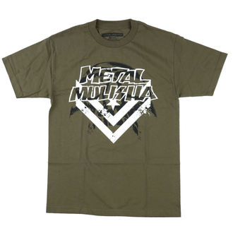 Herren T-Shirt Street - DARKNESS - METAL MULISHA, METAL MULISHA