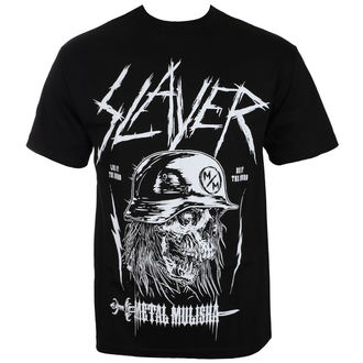 Herren T-Shirt Metal METAL MULISHA - BY THE SWORD SLAYER, METAL MULISHA, Slayer