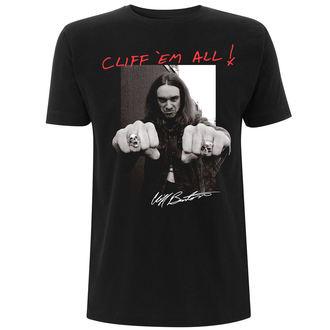 Herren T-Shirt Metal Metallica - Cliff Burton -, Metallica