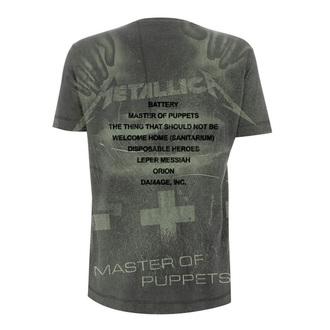 Herren T-Shirt Metal Metallica - Master Of Puppets -, Metallica