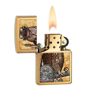 Feuerzeug ZIPPO - STEAMPUNK OWL, ZIPPO