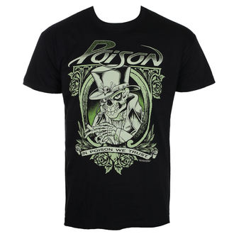Herren T-Shirt Metal Poison - Black - HYBRIS, HYBRIS, Poison