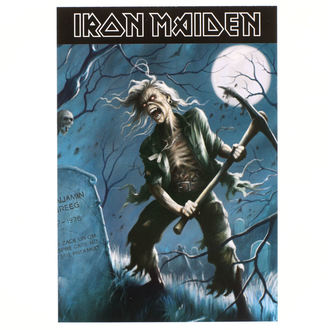 Postkarte Iron Maiden - ROCK OFF, ROCK OFF, Iron Maiden