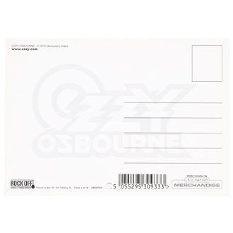 Postkarte Ozzy Osbourne - ROCK OFF, ROCK OFF, Ozzy Osbourne