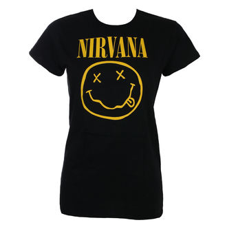 Damen T-Shirt Metal Nirvana - SMILEY - LIVE NATION, LIVE NATION, Nirvana