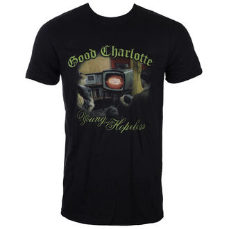 Herren T-Shirt Metal Good Charlotte - YOUNG AND HOPELESS - LIVE NATION, LIVE NATION, Good Charlotte