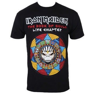 Herren T-Shirt Iron Maiden - BOS Live - ROCK OFF, ROCK OFF, Iron Maiden