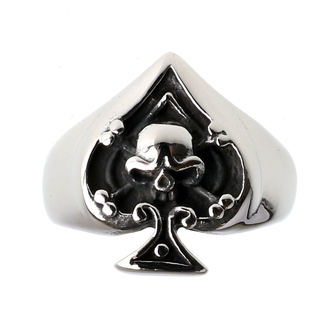 Ring ETNOX - Ace of Spades - Schädel, ETNOX
