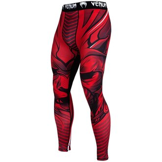 Herren Sport Leggings VENUM - Bloody Roar - Rot, VENUM