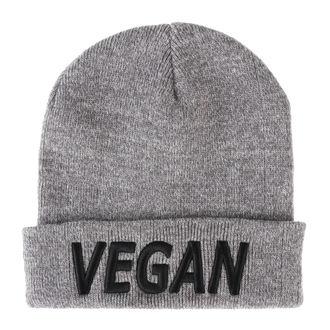 Beanie Mütze COLLECTIVE COLLAPSE - Vegan - heidekraut grau, COLLECTIVE COLLAPSE