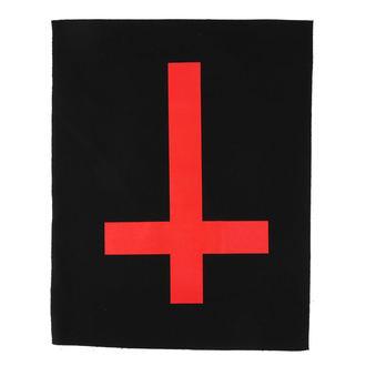 Aufnäher groß Cross Kreuz rot