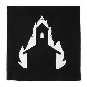 Aufnäher groß Church in flames
