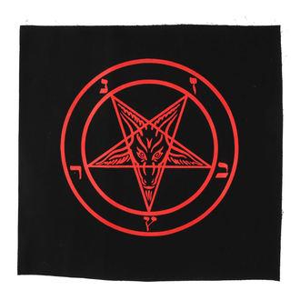 Aufnäher groß Baphomet - pentagram