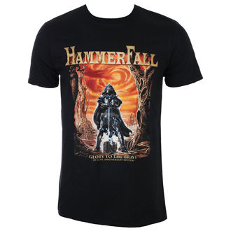 Herren T-Shirt Metal Hammerfall - Glory To The Brave – 20th Anniversary Edition - NAPALM RECORDS, NAPALM RECORDS, Hammerfall