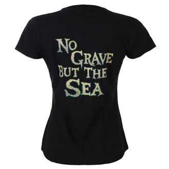 Damen T-Shirt Metal Alestorm - No Grave But The Sea - NAPALM RECORDS, NAPALM RECORDS, Alestorm