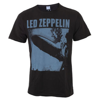 Herren T-Shirt Metal Led Zeppelin - Blimp Square - AMPLIFIED, AMPLIFIED, Led Zeppelin