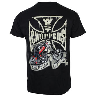 Herren T-Shirt - CHOPPER DOG - West Coast Choppers, West Coast Choppers