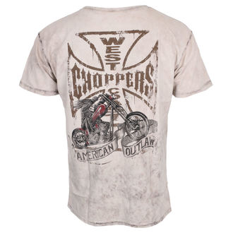 Herren T-Shirt CHOPPER DOG - West Coast Choppers, West Coast Choppers