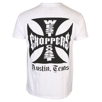 Herren T-Shirt - OG CROSS ATX - West Coast Choppers, West Coast Choppers
